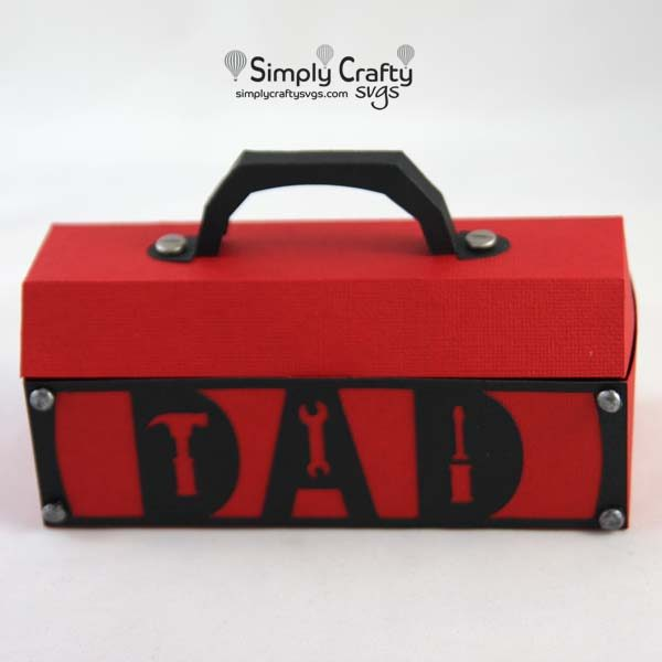 Dad Tool Box SVG File