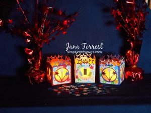 4th of July Tealight Holders by Jana