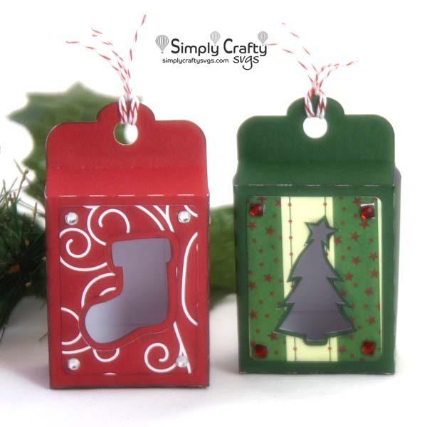 Christmas Tag Box Set SVG File