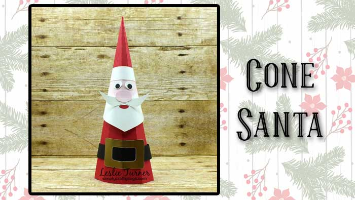 Cone Santa by Leslie
