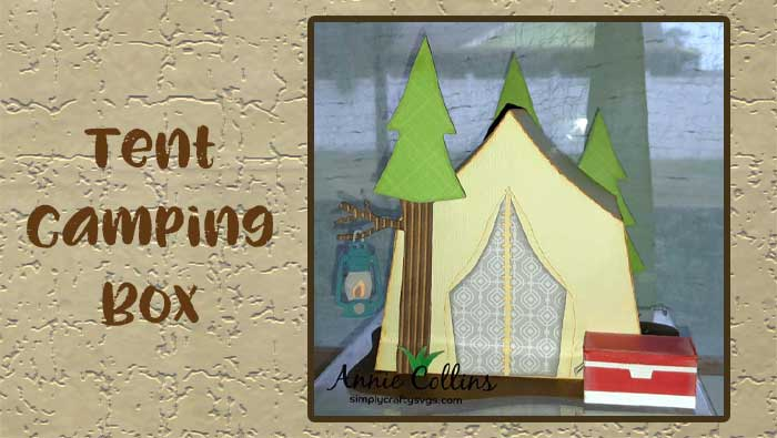 Tent Camping Box by Annie