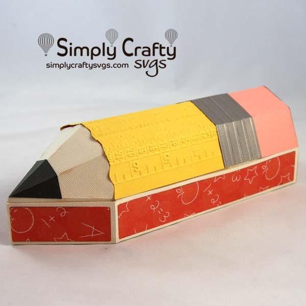 3D Pencil Box