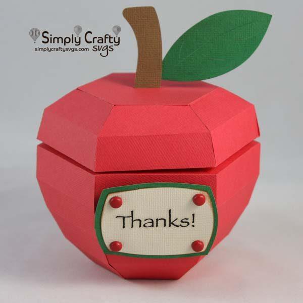 Apple Box SVG FIle