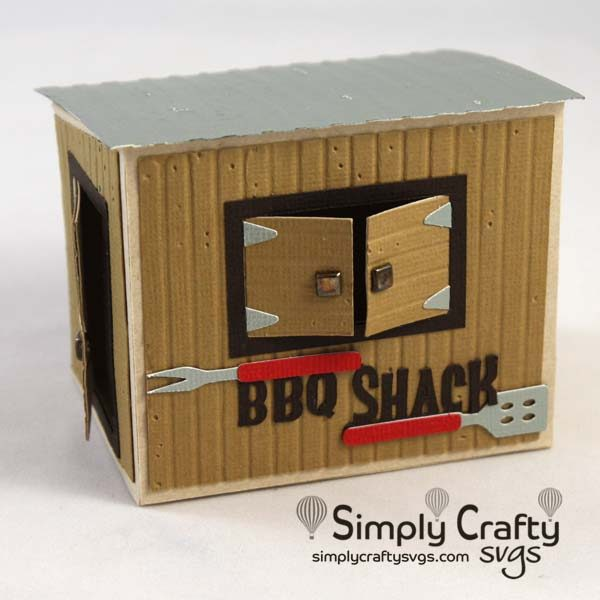 BBQ Shack SVG File