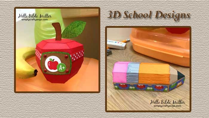 3D School Designs by Helle