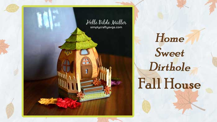 Home Sweet Dirthole Fall House by Helle
