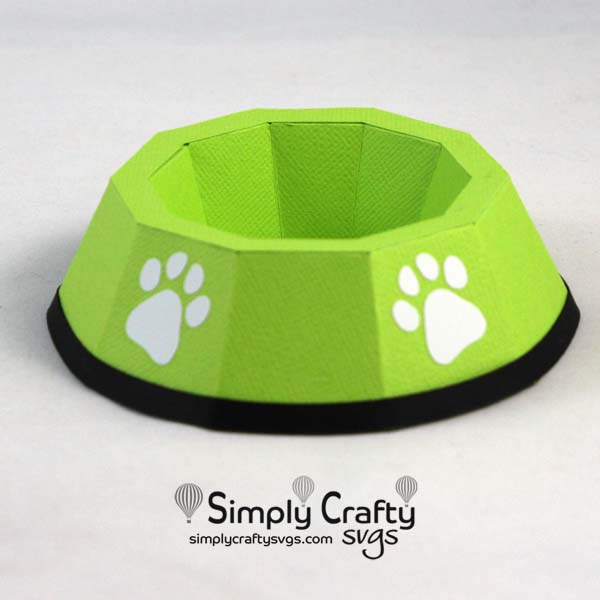 Dog Dish SVG File