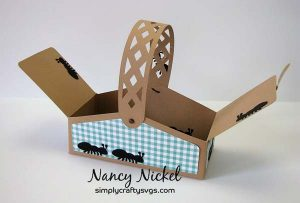 Summer Picnic Basket by Nancy
