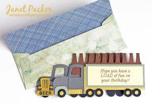 Beer Crate Big Rig Box Card