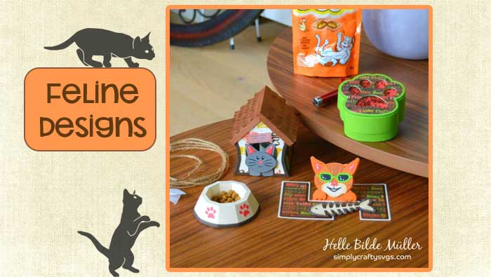 Feline Designs by Helle