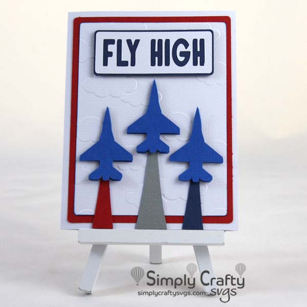 Fly High Card SVG File