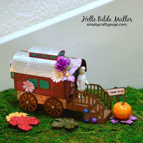 Gypsy Wagon by Helle