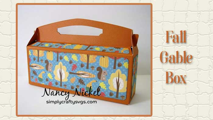 Fall Gable Box by Nancy
