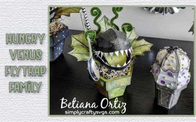 Hungry Venus Flytrap Family by Betiana