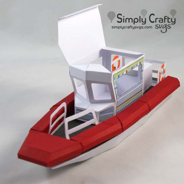 Response Boat SVG File