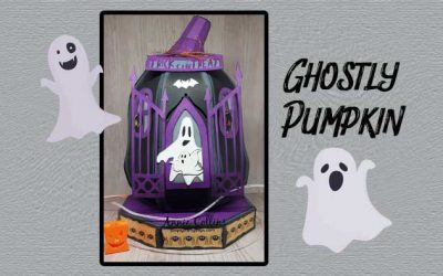 Ghostly Pumpkin by Annie