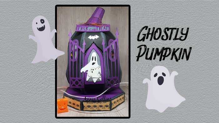 Ghostly Pumpkin by Annie