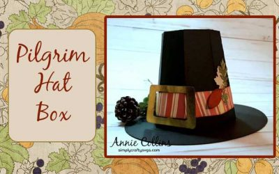 Pilgrim Hat Box by Annie