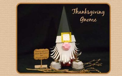 Thanksgiving Gnome by Jana
