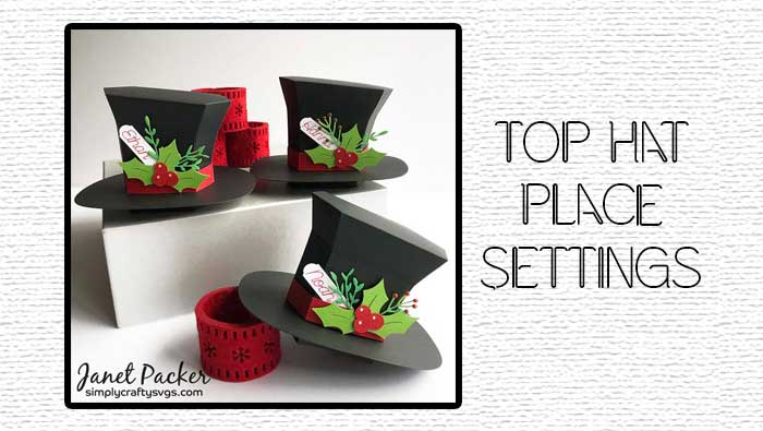 Top Hat Table Place Settings by Janet