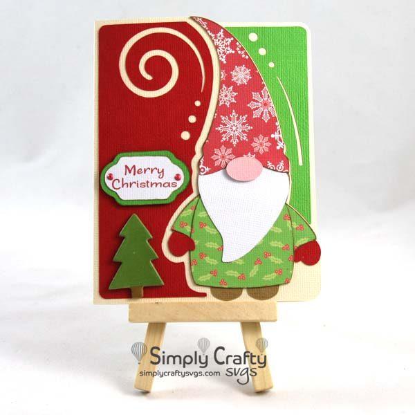Gnome Card SVG File