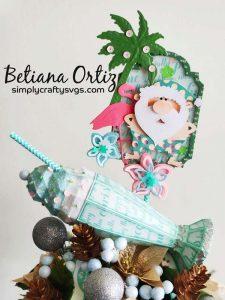 Santa in Florida by Betiana