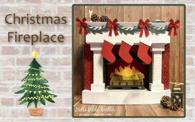 Christmas Fireplace by Helle