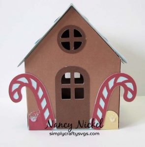 Gingerbread House Box by Nancy