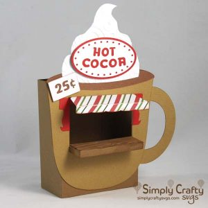 Hot Cocoa Bar SVG File