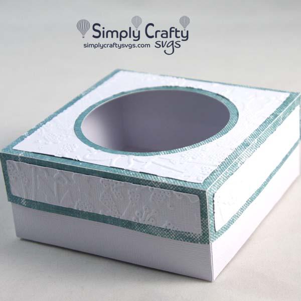 Square Goodies Box SVG File