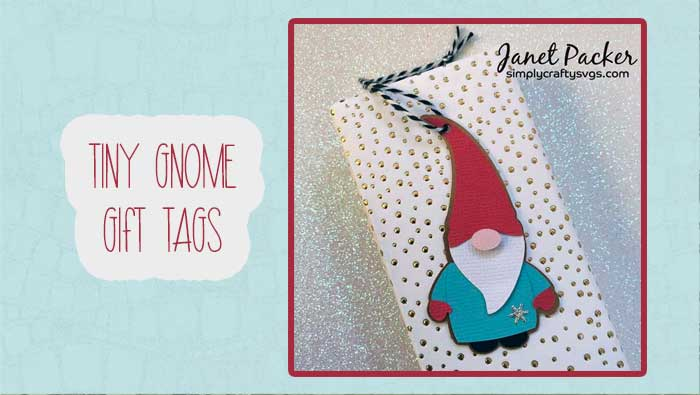 Tiny Gnome Gift Tags by Janet