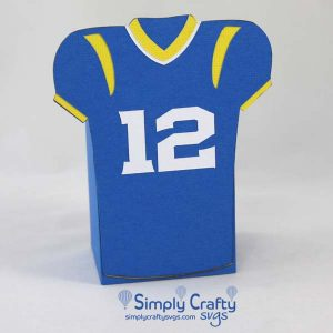 Football Uniform Box SVG File