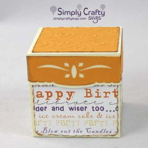 Birthday Square Gift Box 2.5 inch