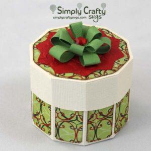 Christmas decagon box