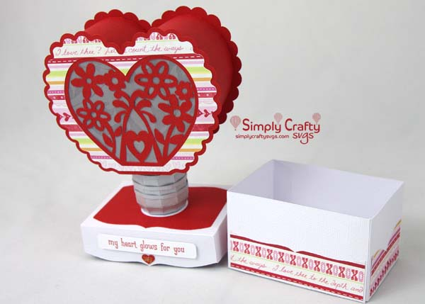 Heart Light SVG File