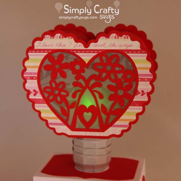Heart Light SVG File