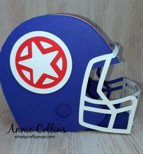 Football Helmet by Annie