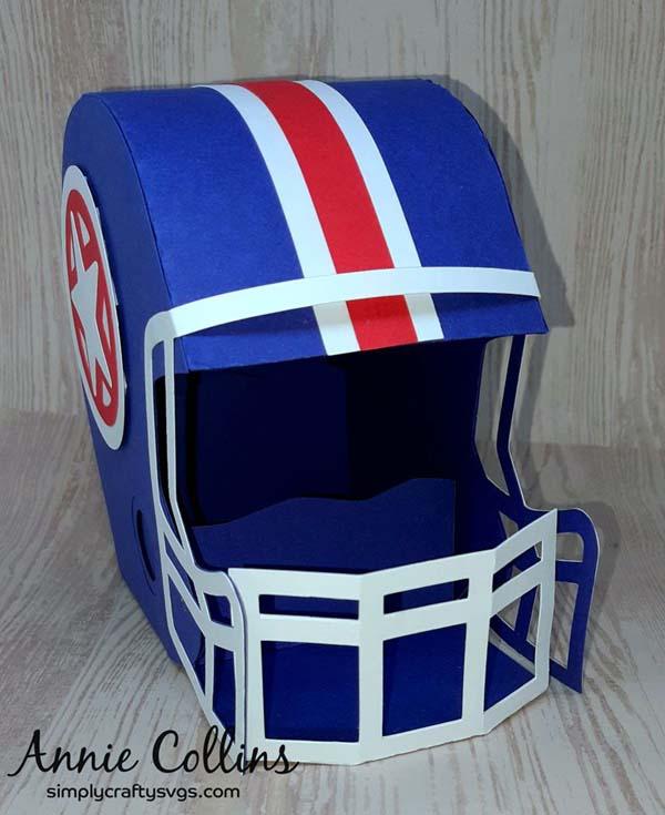 Football Helmet By Annie Simply Crafty Svgs