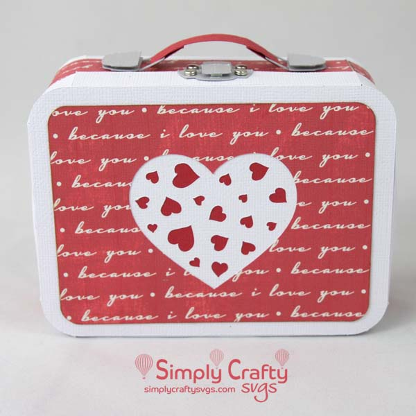 My Valentine Lunch Box SVG file