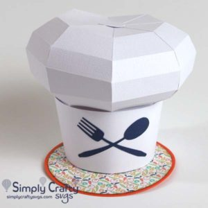Chef Hat SVG File