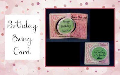Birthday Swing Card by Jana