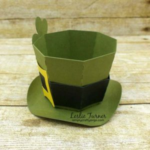 Leprechaun Hat Treat Box by Leslie