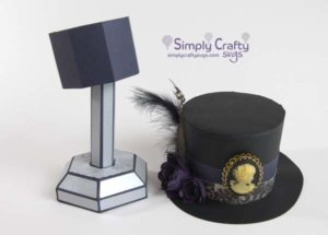 Victorian Top Hat SVG File