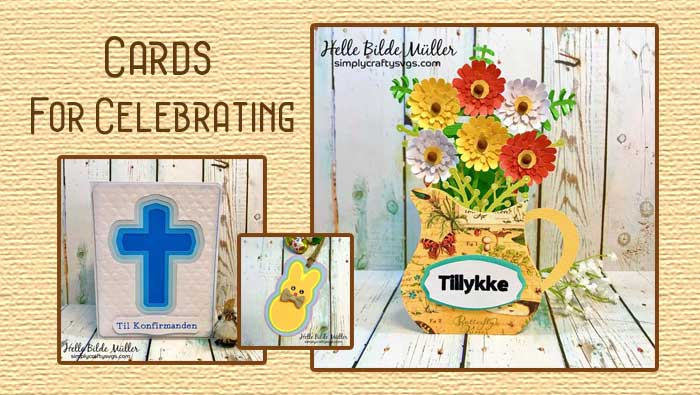 Cards for Celebrations by Helle
