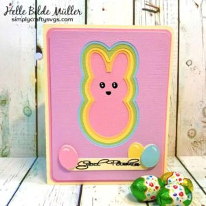 Happy Easter Card by Helle