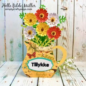 Pitcher of Flowers Card
