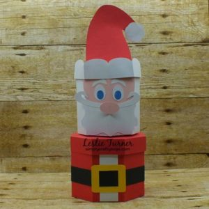 Santa Stacking Box Set by Leslie