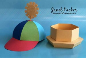 Rainbow Hat by Janet