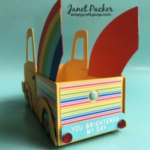 Thank you Rainbow Truck Box by Janet