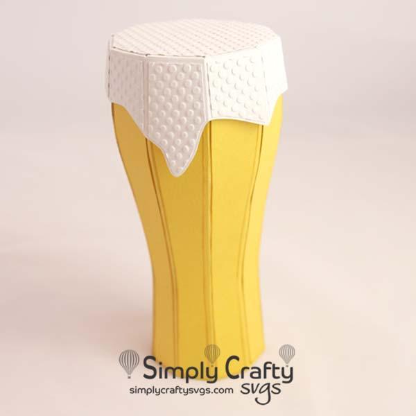 Beer Glass SVG File